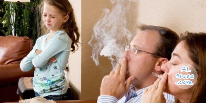 اسباب التدخين - الاب المدخن