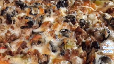 طريقة عمل البيتزا بالصور خطوة خطوة