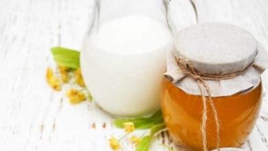خلطات للوجه بالعسل والحليب