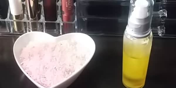 تبييض البشرة في 10 دقائق بالأرز وزيت الزيتون