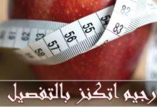 صورة رجيم اتكنز المسموح والممنوع بالجدول الأصلي