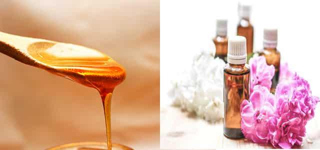 خلطة ماء الورد والعسل لتفتيح البشرة