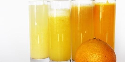 عصير الليمون لازالة البقع البنية