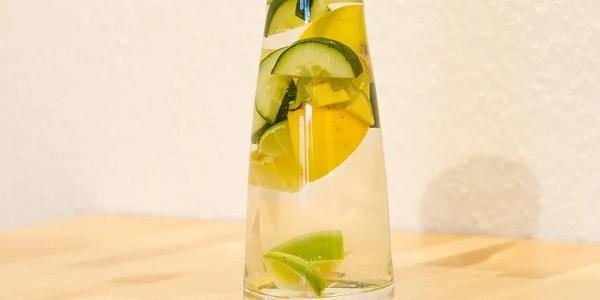 مشروب الليمون والخيار