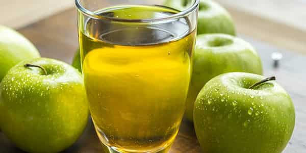 وصفة عصير التفاح لتنعيم الشعر الجاف