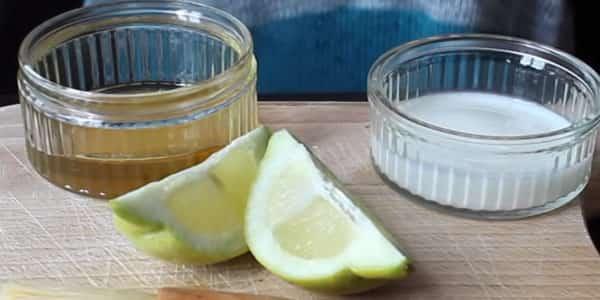 ماسك الزبادي والعسل والليمون للتقشير والتفتيح