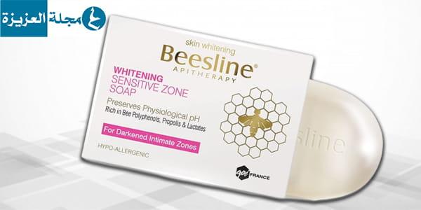 صابونة بيزلين للتفتيح بصمغ النحل للمناطق الحساسة