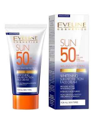 كريم ايفلين whitening sun protection لتفتيح البشرة السمراء