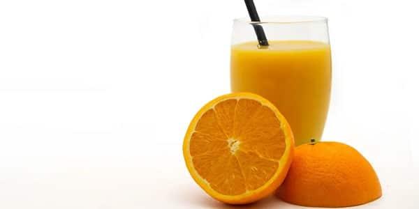مشروب عصير البرتقال للبشره