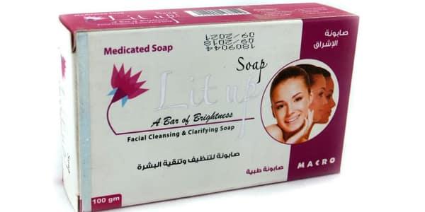 صابونة ليت اب lit up soap