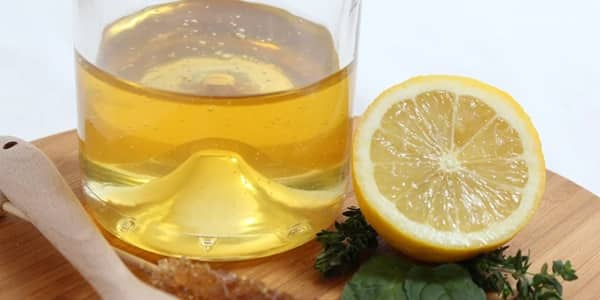 غسول العسل والليمون للبشرة الدهنية