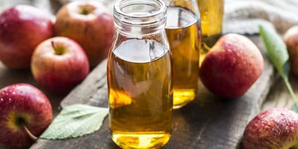 غسول خل التفاح للبشرة الدهنية