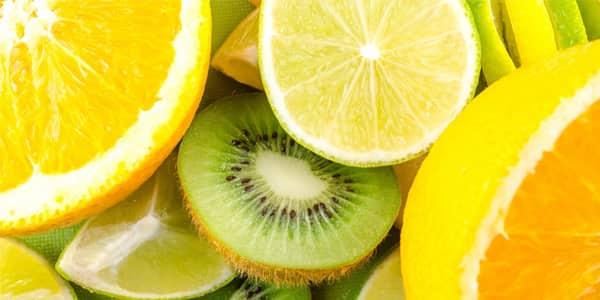 فوائد مقشرات احماض الفواكه