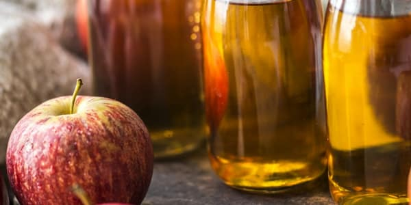 ماسك خل التفاح لتنظيف الوجه بسهولة