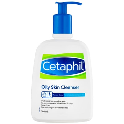 benefits of Cetaphil cleanser for oily skin