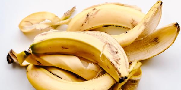 خلطات قشر الموز للشعر