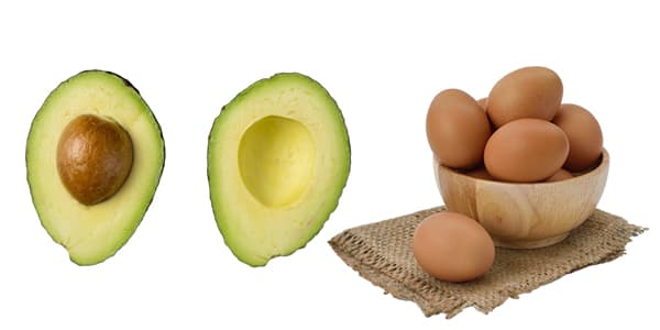ماسك الأفوكادو وبياض بيض للوجه