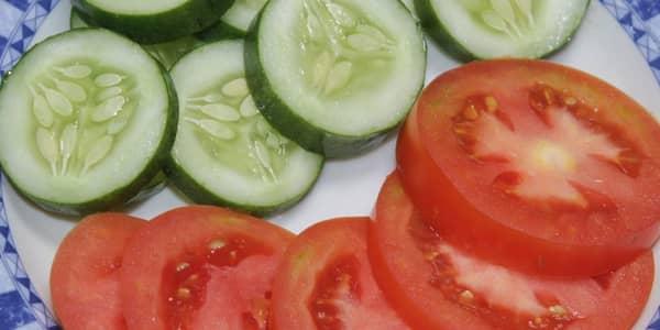 ماسك الطماطم والخيار للوجه
