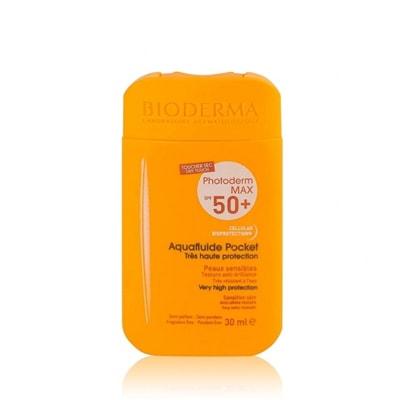 واقي شمس بيوديرما MAX Aquafluide Pocket SPF 50 للرياضيين
