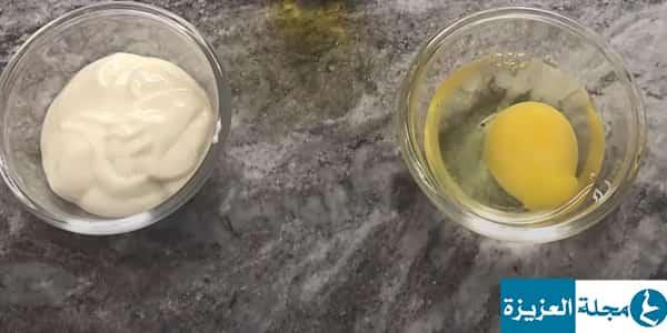 وصفة البيض والمايونيز لتطويل الشعر وتنعيمه في شهر