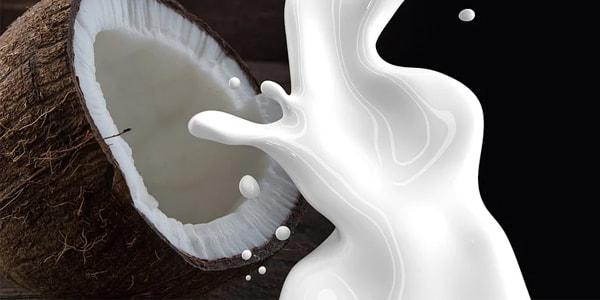 صورة 4 خلطات حليب جوز الهند لتنعيم الشعر بسرعة