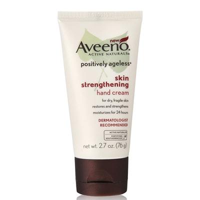 كريم Aveeno Positively Ageless Skin Strengthening Hand Cream