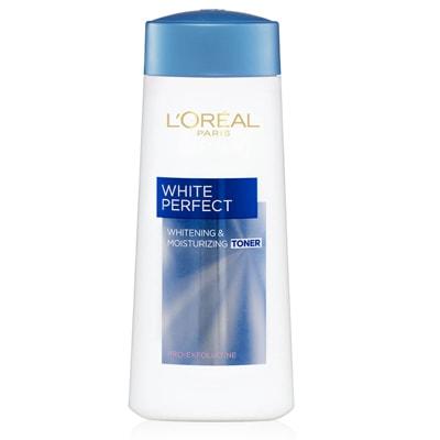 تونر لوريال white perfect للبشرة المختلطة