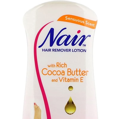 كريم Nair hair remover lotion with rich cocoa butter