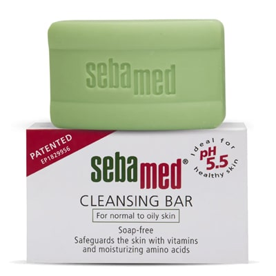 SebaMed Cleansing Bar Soap-Free for Normal to Oily Skin
