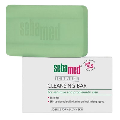 Sebamed Cleansing Bar for Sensitive and Problematic Skin