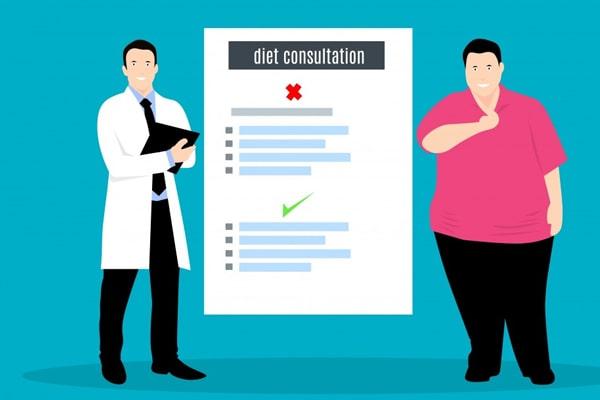 معدل نزول الوزن بعد عملية تحويل المسار