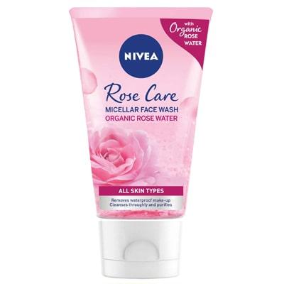 نيفيا ميسيلار غسول الوجه بماء الورد