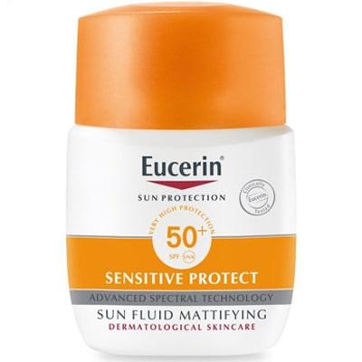 واقي شمسي يوسيرين Eucerin Sun Fluid Sensitive Protect للبشرة المختلطة