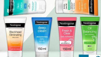 انواع مقشر نيتروجينا - Neutrogena face scrubs