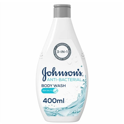 صابونة جونسون سائل للجسم مضاد للبكتيريا بملح البحر