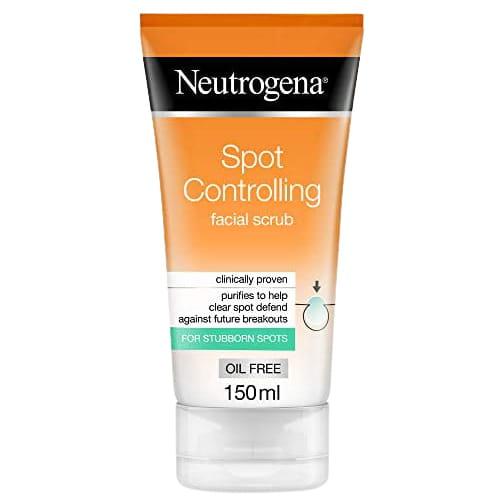 مقشر نيتروجينا فيزيبلي كلير للبقع spot controlling facial scrub
