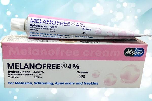 melanofree cream 4%