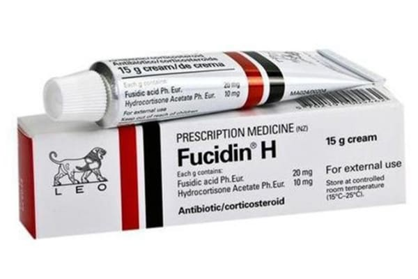 كريم الاسد الاحمر والاسود Fucidin H